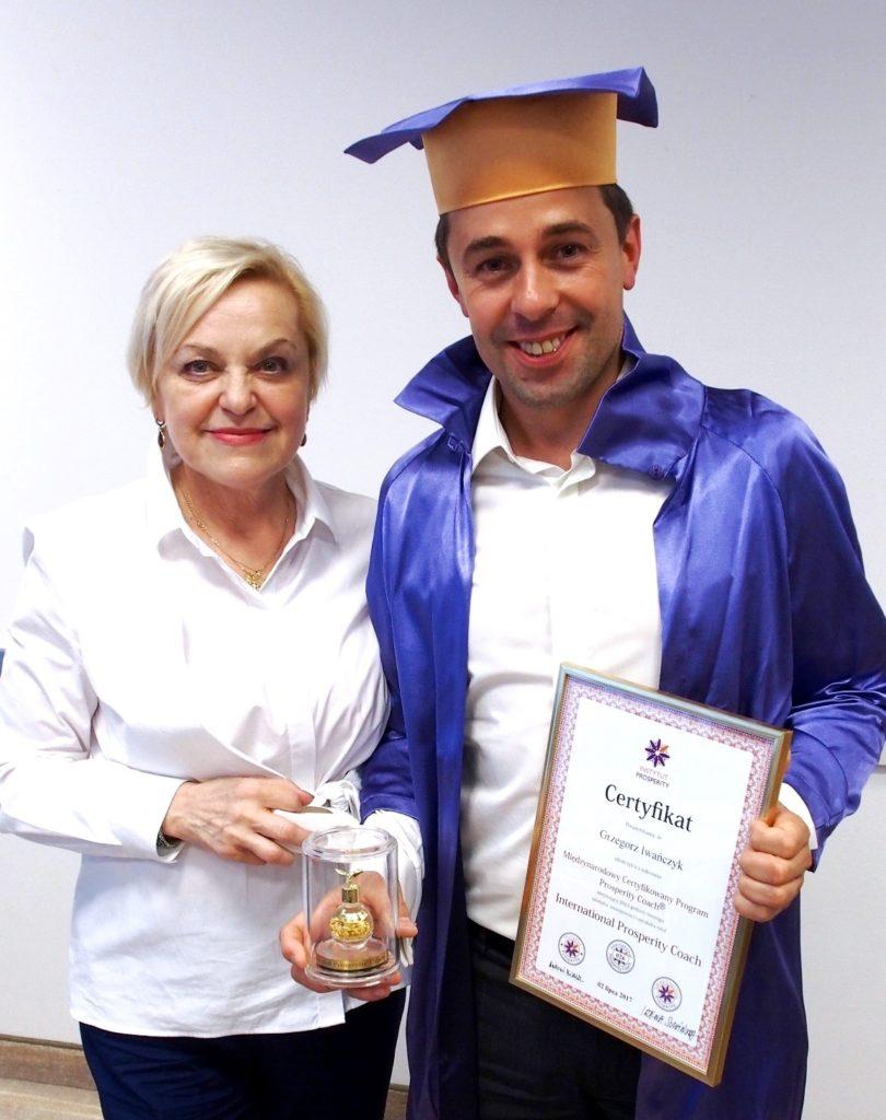 Certyfikowany Coach Prosperity - Grzegorz Iwańczyk